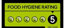 Maidenhead Spice Hygiene five out of five